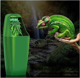 XINGSEB Fuente de Agua para Reptiles, Alimentación de Agua de Circulación con Bomba de Paisajismo para Tortuga Lagarto Cam...