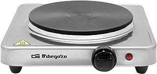 comprar comparacion Orbegozo PE 2910 - Placa eléctrica, termostato regulable, 1500 W, acero inoxidable
