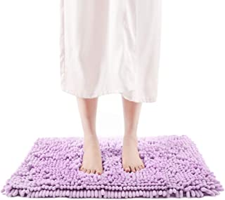 [Amazonブランド] Umi.(ウミ) バスマット 吸水 サラサラ速乾 風呂マット ふわふわ マイクロファイバーモール足ふきマット 滑り止め ソフトタッチ 丸洗いマット 42cmX60cm