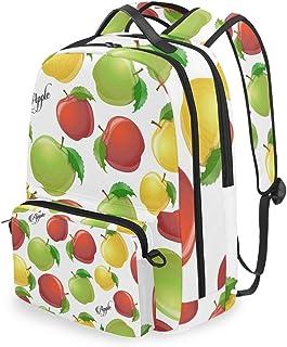 Mochila con bolsa cruzada desmontable, conjunto de frutas, mochila para ordenador de viaje, senderismo, camping