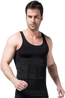 FS Mens Tights Compression Body Shaper Sports Muscle Tank Top Abs Abdomen Slim