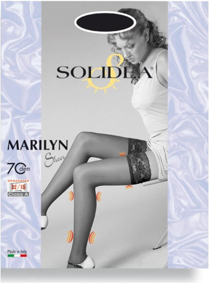 Solidea Marilyn 70 Sheer Stockings Color Sand Size 3-Ml