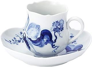 【正規輸入品】 マイセン [MEISSEN] ブルーオーキッド コーヒー カップ&ソーサー 824001/23582