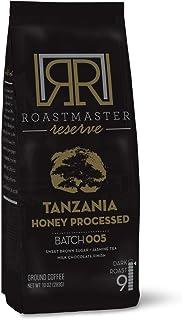 Sponsored Ad - Roastmaster Reserve Dark Roast Coffee (Tanzania Honey Peaberry Coffee) 10oz. Dark Roast Ground Coffee Limit...