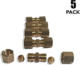 ASD 3/16 OD Compression Fittings/Unions (Pack of 5)