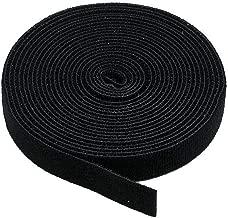 Monoprice Hook & Loop Fastening Tape 5 Yard/roll, 0.75-inch - Black (105828)