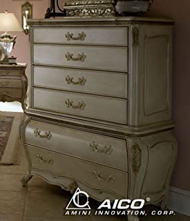 Lavelle Blanc 6 Drawer Chest by AICO - (54070-04)