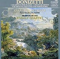 ドニゼッティ:弦楽四重奏曲第6番、第7番、第9番、第16番