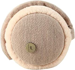 Chinashow Knitted Super Soft Folding Earmuffs Winter Earmuffs Ear Warmers,Khaki
