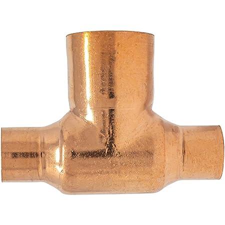 Amazon Com Libra Supply 1 2 X 1 2 X 3 4 1 2 X 1 2 X 3 4 Inch 1 2 X1 2 X 3 4 Inch Copper Pressure Sweat Reducing Tee Cxcxc Click In For More Size Options Copper Pressure