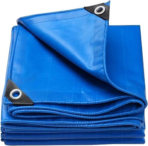 JINSH Bache imperméable Bleue imperméable, Pare-Soleil isolé, bache, Anti-poussière, Hangar Coupe-Vent, Anti-oxydation (Couleur   A, Taille   3x6M)