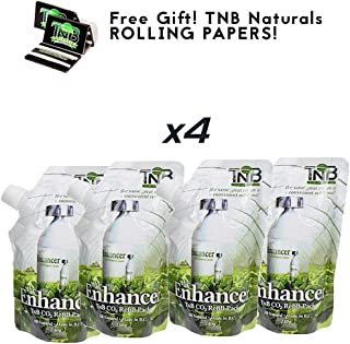 TNB Naturals Enhancer Refills Four Pack with Free TNB Rolling Papers!