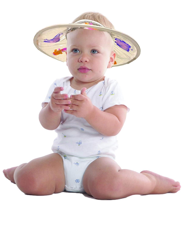 SWEETIE Safe Shampoo Shower Bathing Protection Bath Cap Soft Visor Hat for Toddler, Baby, Kids, Children Blue