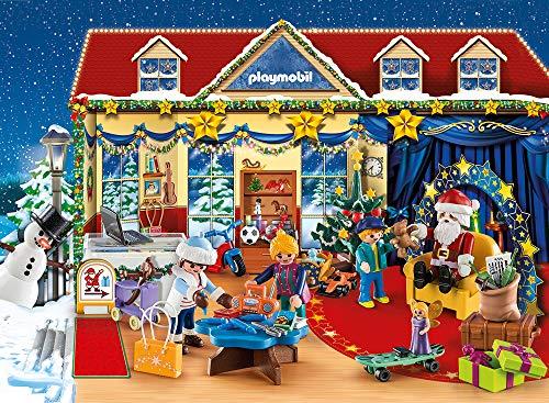 PLAYMOBIL Calendario de Adviento 70188 Navidad en la Juguetería, A partir de 4 años