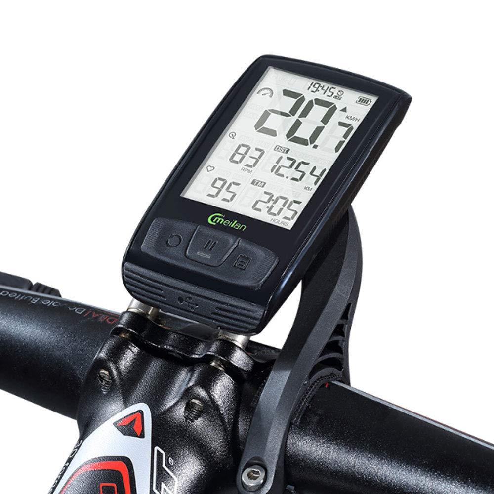 AXDNH Ordenador de Ciclismo, Ordenador de Bicicleta Multifunción ...