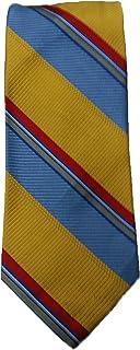 Robert Talbott Camouflage Green Stripe Michigan Seven Fold Tie