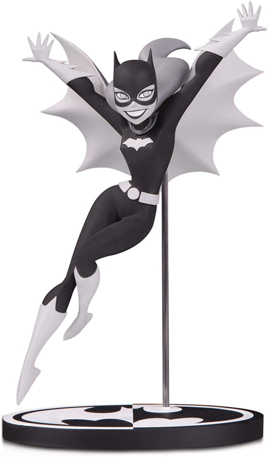 DC Collectibles Batman Black & White  Batgirl by Bruce Timm Statue