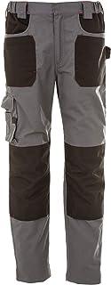 CHEMAGLIETTE Pantaloni da Lavoro Uomo Elasticizzati Cotone con Tasche Laterali JRC Riad
