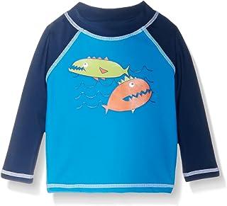 Flap Happy Boys' Baby UPF 50+ Graphic Rash Guard/Swim Top