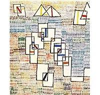 Klee Cote DeProvenceウォールアートキャンバス絵画ポスターリビングルーム家の装飾壁の装飾-50x70cmフレームなし
