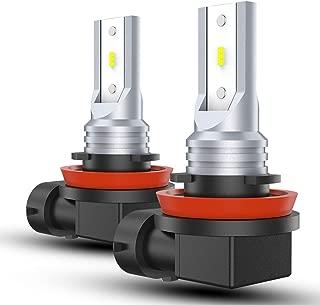SEALIGHT H11 LED Fog Light H8 H16 LED Bulb Upgrade CSP Chips 6000K Super Bright White Non-polarity