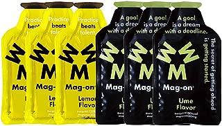 Mag-on マグオン エナジージェル ウメ(梅)3個 新味レモン3個 計6個セット