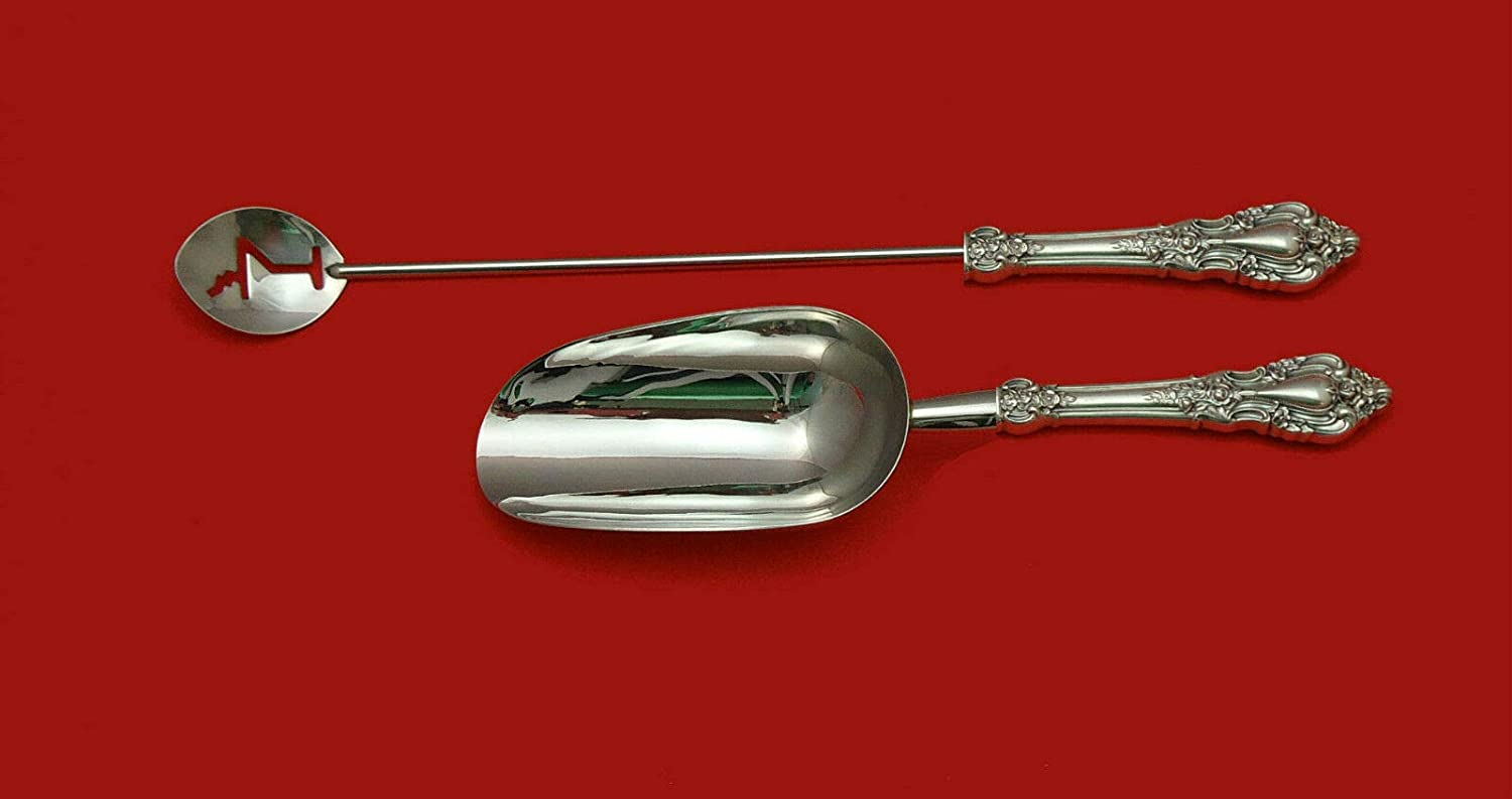 Eloquence by Lunt Sterling Silver HHWS Set 2pc Bar Luxury Challenge the lowest price of Japan F Made Custom