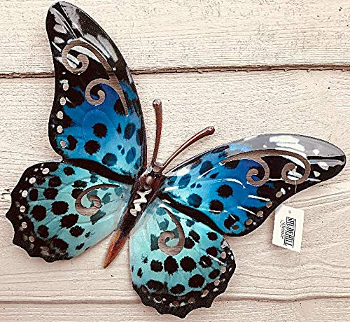 JD Bug - Cuadro decorativo de metal para pared (35 cm), diseño contemporáneo