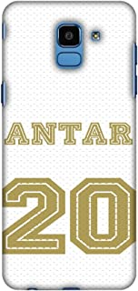 AMZER Slim Fit Handcrafted Designer Printed Snap On Hard Shell Case Back Cover Skin for Samsung Galaxy J6 (2018) - Footbal...
