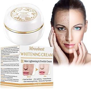 Crema blanqueadora crema iluminadora crema aclaradora tratamiento facial antienvejecimiento para hiperpigmentación ton...