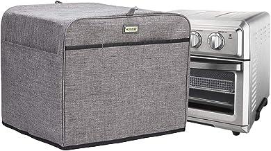 Homest Housse de protection anti-poussière pour four avec poches accessoires Compatible avec four à grille-pain à convecti...