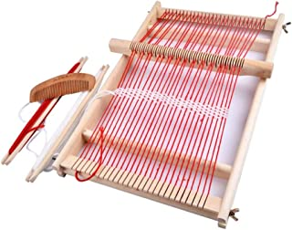 Luckycyc Weaving Loom Kit Boys Hand - Woven DIY Suit Wooden Multifunctional Loom - The Deluxe Perfect Quality