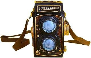 Kitabetty Decoración de cámara retro modelo de grabadora de video de decoración de cámara vintage de resina creativa accesorios de fotos y decoración de mesa para decoración de café de pub en casa