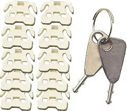 FJM Security FJM-0916 USB Port Lock, Pack of 10