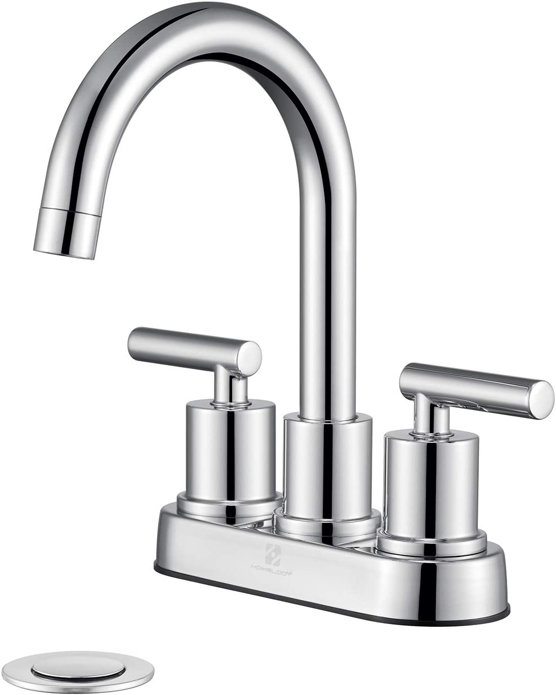 HOMELODY Faucet for Ranking TOP20 Ranking TOP18 Bathroom Chrome Centerset Two Handles