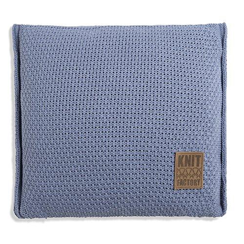 Knit Factory Jesse kussen 50x50 Indigo