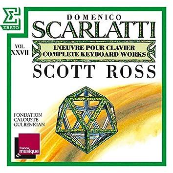 Scarlatti: The Complete Keyboard Works, Vol. 27: Sonatas, Kk. 536 - 555