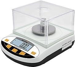 Bonvoisin Balance de Laboratoire Scientifique de Précision 0.01g Balance de Bijoux d'Or Balance de Cuisine avec Pare-Brise...