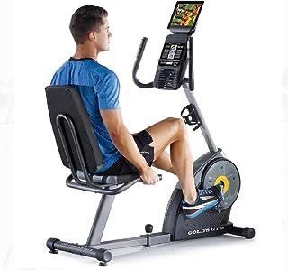 Bicicleta Ergométrica Horizontal Gold's Gym Trainer 400 Ri