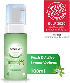 Betadine Intimate Foam - Fresh & Active Lemon Verbena, 100 ml