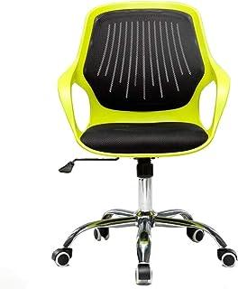 Chair 椅子 Chairs Swivel Ergonomic Multicolor Stylish Fabric Mesh Office Furniture Excutive Desk (color : Black),Colour:Gree...