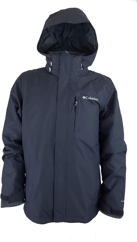Columbia Mens Arctic Trip III Fleece Interchange Jacket, Black