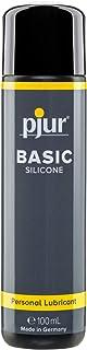 pjur BASIC SILICONE – silikon-glidgel idealisk för nybörjare – kondomlämplig och icke-självhäftande – för män och kvinnor...