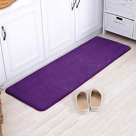 Amazon Com Purple Kitchen Rugs Kitchen Table Linens Home