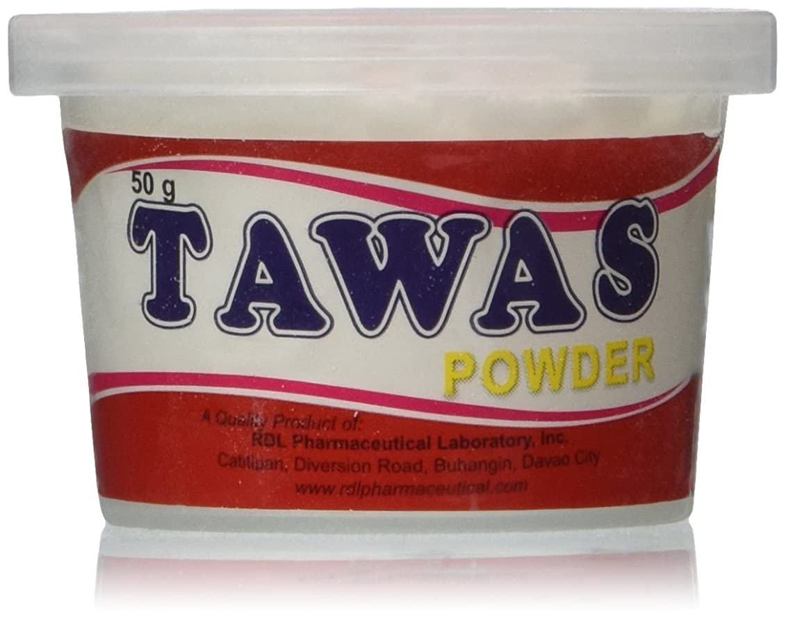 入札ブロック衛星RDL Tawas Powder (Alum Powder) 50grams (Red) by RDL