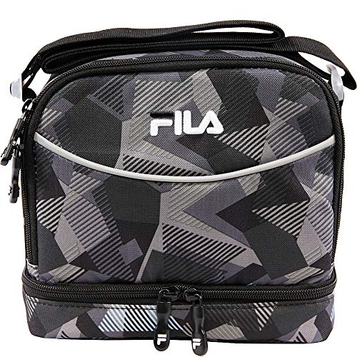 Fila Refuel II Lunch bag (Black Abstract)