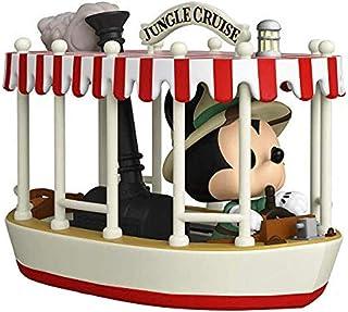Funko Pop! Rides: Jungle Cruise - Skipper Mickey con barco