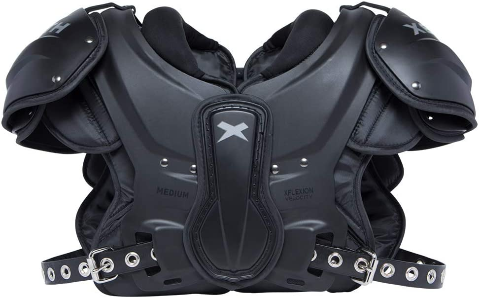 Xenith Velocity Varsity Football Shoulder Pads for Adults - All Purpose Protective Gear (X-Large) : Sports & Outdoors