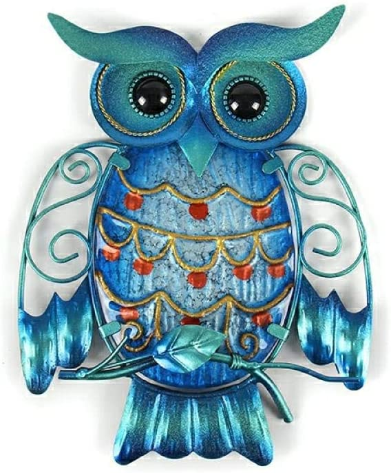 BGHYU Metal Owl Home sold out trust Decor for Animals Outdoor Decoration Garden