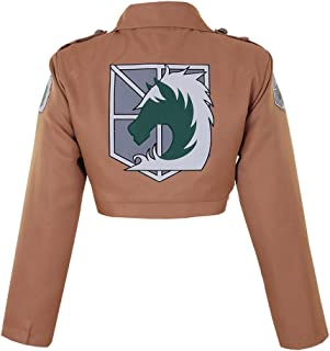 Women's Attack on Titan Military Police Jacket Cosplay Costume
